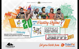 World Creole Music Festival Ticket's Now Available Online