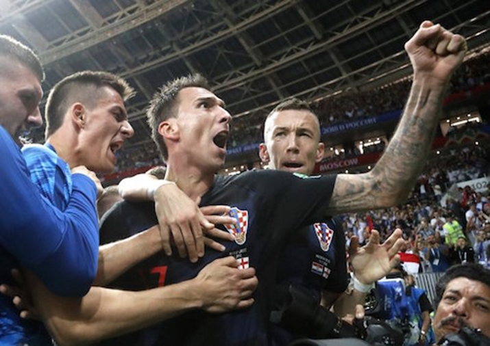 Croatia Through To World Cup Final After Beating England 2-1