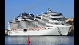 MSC Meraviglia: world's 7th largest ship makes golden voyage to Belize