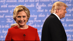 Donald Trump Aggressively Tried to Defend Himself During First Presidential Debate