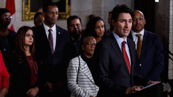 Prime Minister Trudeau Announces that Canada Will Officially Recognize the International Decade for People of African Descent