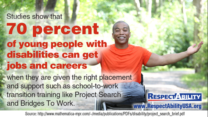 Only 61% of students with disabilities get a high school degree — so it is up to people with disabilities, and their loved ones, to educate and advocate for disability inclusion and success.