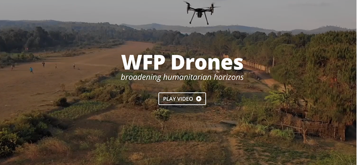 World Food Programme (WFP) Boosts Global Co-operation On Humanitarian Drone Use