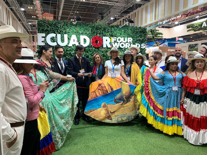 Ecuador at the WTM London 2019