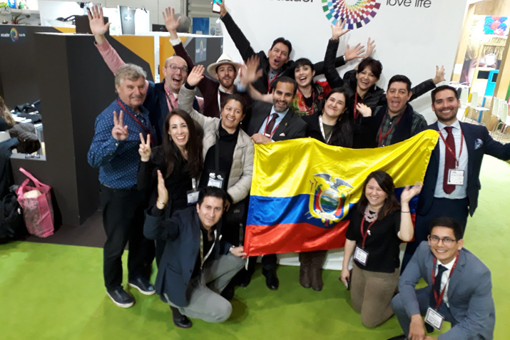 Ecuador Exhibited its Tourism Wonders in London at World Travel Market 2018