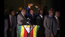 Zimbabwe's Incoming President Emmerson Mnangagwa Returns Home to Cheers