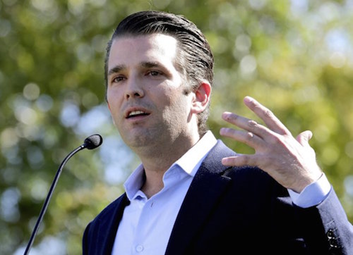 Trump's Son Eric Changes His Account of His Meeting With Russian Lawyer