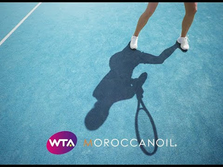 Moroccanoil® Announces Partnership with Women's Tennis Association Celebrated Through the INSPIRED BY WOMEN™ Platform