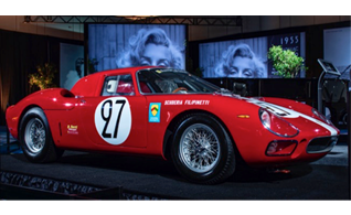 1964 Ferrari 250 LM, Valued at $20M is the Most Valuable Car at 2019 Canadian International Autoshow