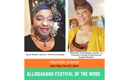 Montserrat's 12th Alliouagana Festival of the Word Begins Friday, Nov 20th