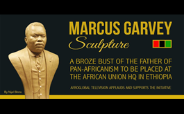 Marcus Garvey Sculpture To Be Placed In African Union Headquarters In Ethiopia