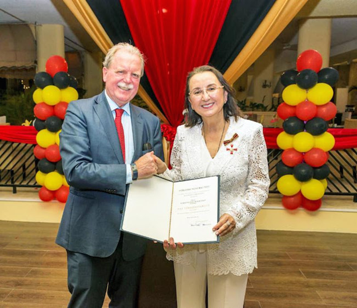 St Lucia's Karolin Troubetzkoy Awarded Germany's Highest Honour