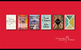 Six Canadian authors named to the 2019 Scotiabank Giller Prize shortlist