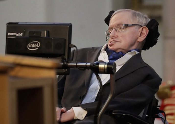 Stephen Hawking's Laboratory Was His Universe