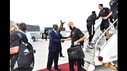 Photos: View Miami Heat Basketball Team's Arrival and Reception in The Bahamas