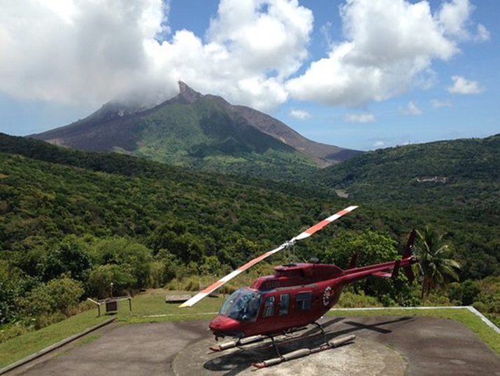 There Was No Brand New Helicopter Service Contract Award by the Montserrat Volcano Observatory to Caribbean Helicopters