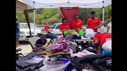Rotaract Club of Montserrat Donates Essential Items to St. Vincent & the Grenadines' Volcanic Relief Efforts