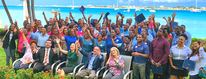 Caribbean Professionals Complete Hospitality Training