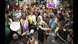 U.S President Trump Trump Disavows 'Send her back!' chant as Omar stands defiant