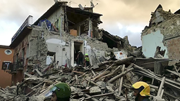Powerful Italy Earthquake Kills Dozens and Reduces Town To Rubble