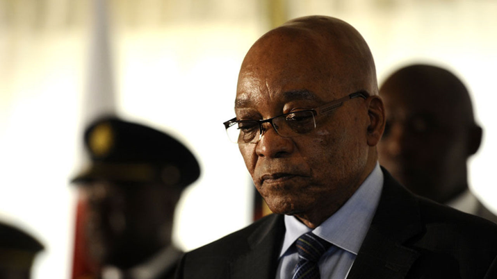 South Africa's President, Jacob Zuma Resigns With Immediate Effect