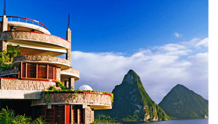 Jade Mountain, St. Lucia, Named #25 Hotel In The World, #2 In Caribbean