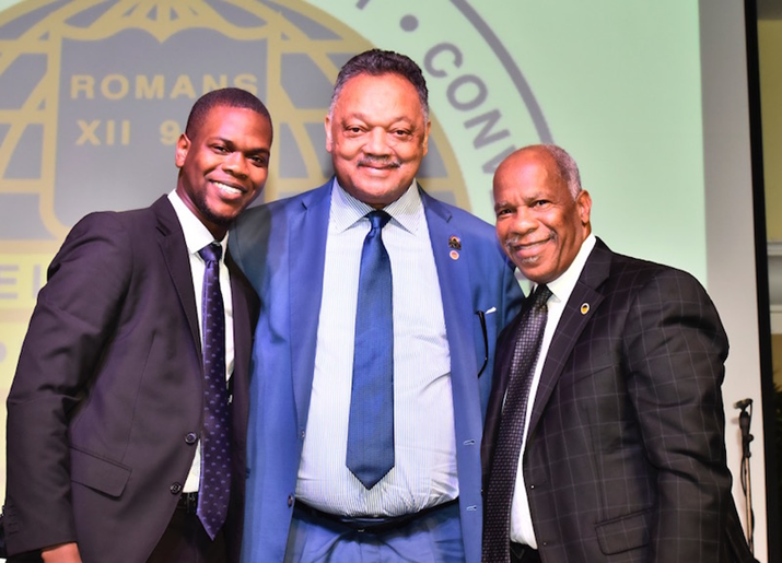 Iconic Civil Rights Leader Rev. Jesse Jackson In The Bahamas For Baptist Convention