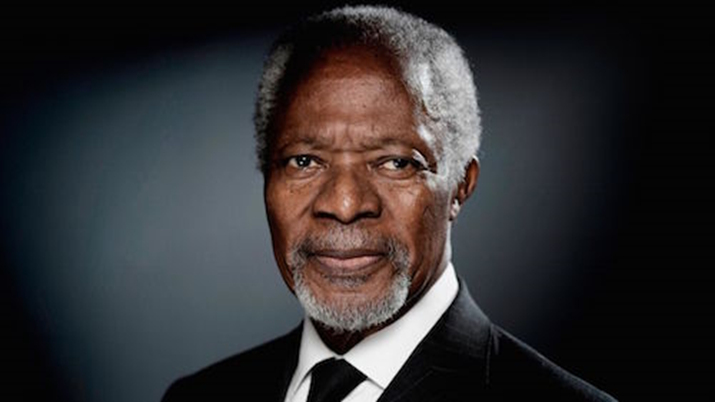 Former U.N First African Secretary General, Kofi Annan Has Died Aged 80