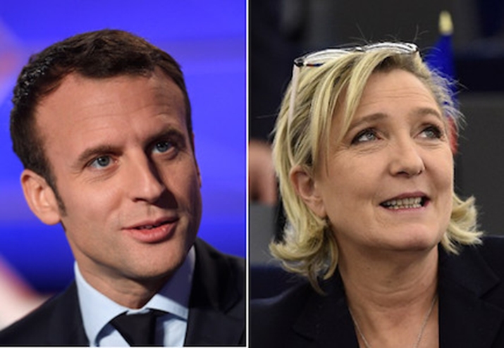 Macron and Le-Pen to face off in French Presidential Elections