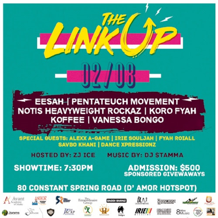 February is Reggae Month in Jamaica: #TheLinkUpJa - Feb 8th, 2018
