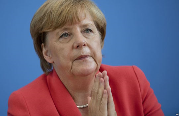 Exit Polls Show Angela Merkel Set for a 4th Term as Germany's Chancellor-elect