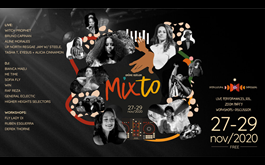 Announcing the line-up for 2nd Annual MIXTO FESTIVAL November 27-29, 2020