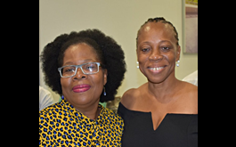 Rhoda Arrindell, Nicole Cage, Recipients of the Presidents Award from St. Martin Book Fair 2019