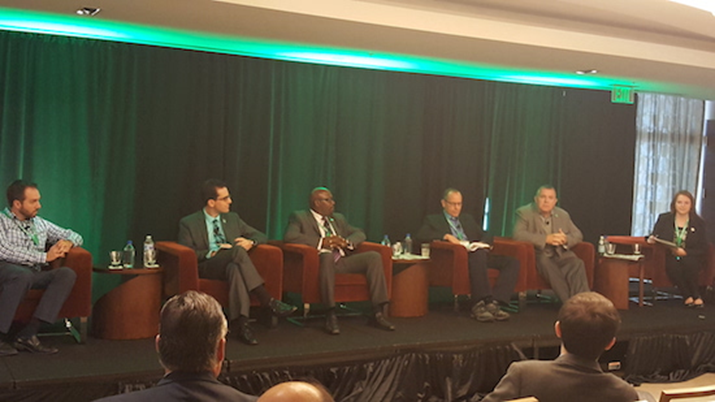 Are Microgrids The Answer for Building Resiliency into the Caribbean's Electricity Supplies? International Project Manager, Owen Lewis, Sits on High Level Panel to Discuss