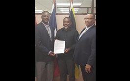 Hon Paul J. Lewis Deposits Montserrat's CCREEE Instruments of Ratification to CARICOM and Secures a Further Win for the Island
