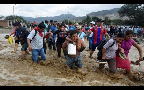 Call for Aid to Victims of Peru Flooding