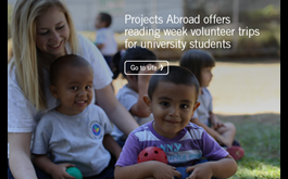Making The Most of Reading Week by Volunteering Abroad