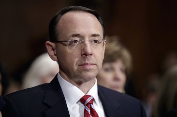 Deputy Attorney General Rod Rosenstein Says He Stands By Memo Critical of Comey