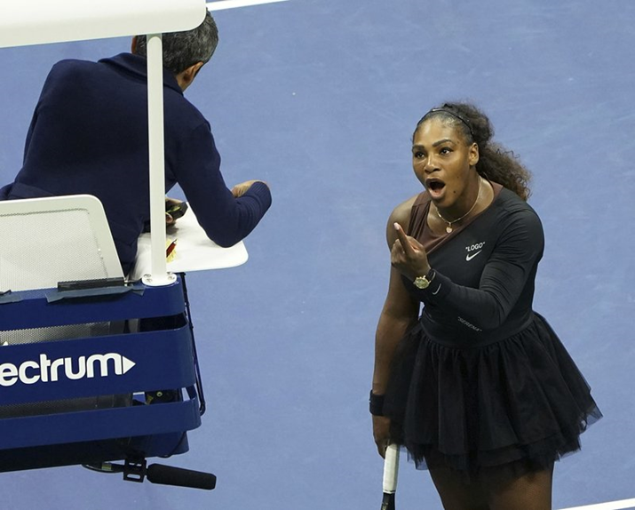 "Serena Williams Being Branded ""Angry"" Resonates Amongst Black Women"