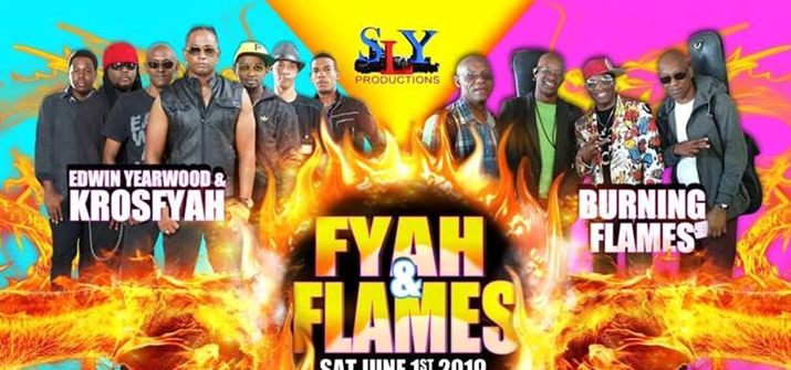 Sly Productions Announce Krosfyah vs Burning Flames Live Jam in Toronto to Take Place on September 7th, 2019
