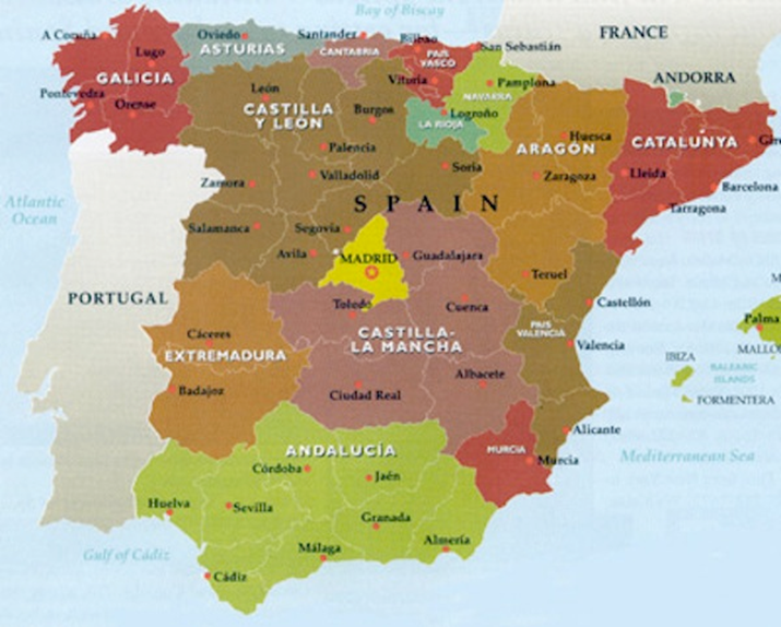 Catalunya Spain Map.Will Catalonia Follow Scotland And Seek Referendum For Independence