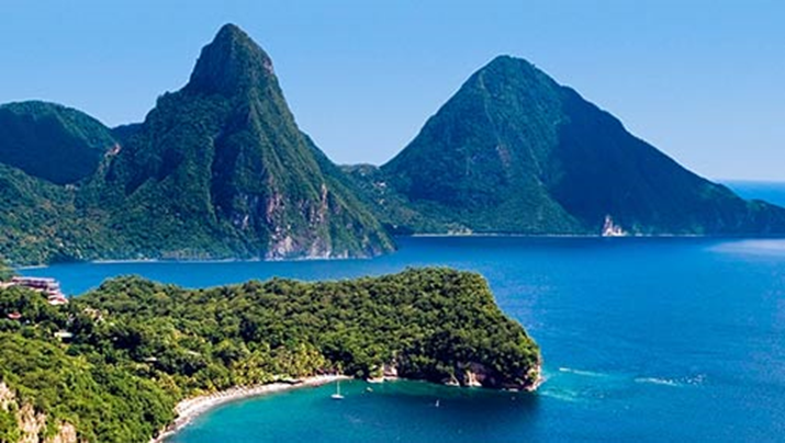 Saint Lucia Named on Top Caribbean Islands List