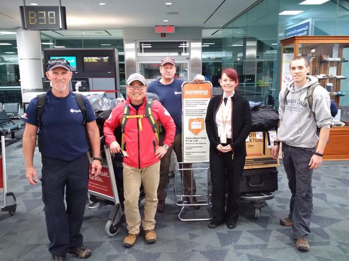 GlobalMedic Team Checks in at Toronto Pearson International Airport en route to help with Hurricane Irma Relief in St Maarten