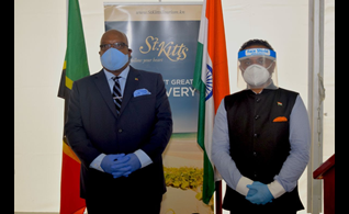 St. Kitts and Nevis Prime Minister Thanks Government of India For Donation of 20,000 Doses of Covid-19 Vaccine