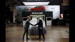 Toronto Maple Leafs Superstar William Nylander Accepts Key To First New Volvo XC40