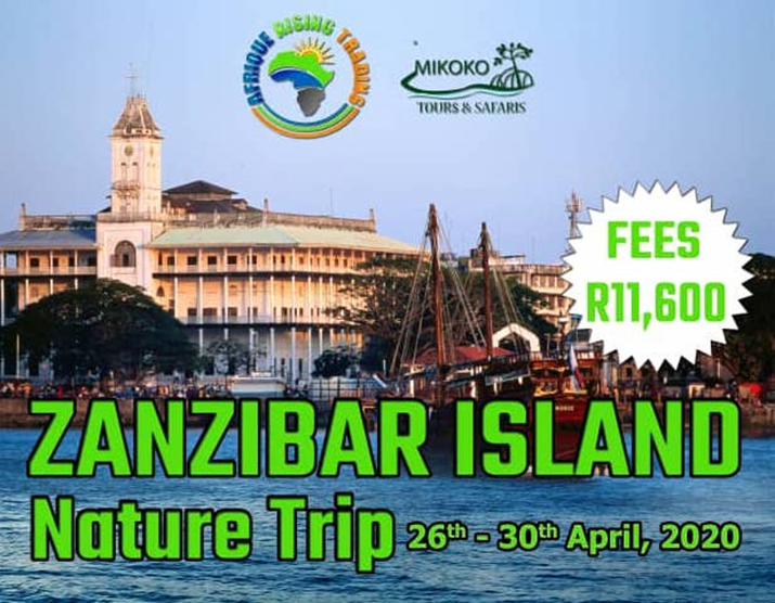 Book Your Tickets for the 2020 Zanzibar Island Nature Trip and Business Exploration Tour