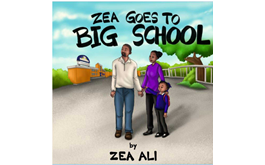 Four-year-old Zea Ali has Published her first book titled 'Zea Goes to Big School'